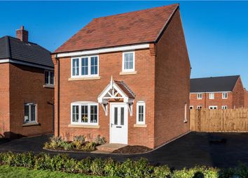 "Thumbnail 3 bed detached house for sale in ""Melbourne"" at Burton Road, Streethay, Lichfield"