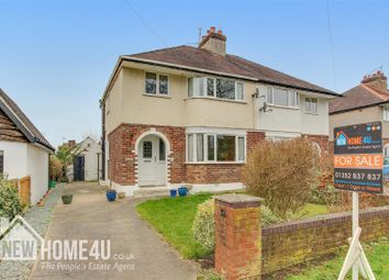 Thumbnail 3 bed semi-detached house for sale in Hendy Road, Mold