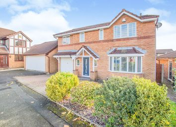 Thumbnail 4 bed detached house for sale in Kentsford Drive, Radcliffe, Manchester, Greater Manchester