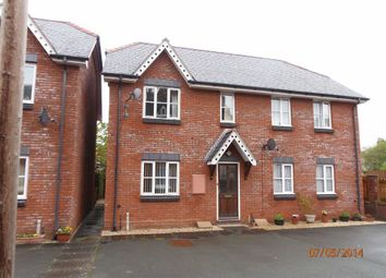Thumbnail 3 bed semi-detached house to rent in 3, Smithy Court, Stone Street, Newtown, Powys