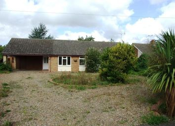 Thumbnail 4 bed bungalow for sale in West Row, Bury St. Edmunds, Suffolk