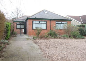 Thumbnail 3 bed detached bungalow for sale in Swinston Hill Road, Dinnington, Sheffield, South Yorkshire