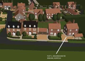 Thumbnail Land for sale in Walsingham Road, Binham, Fakenham