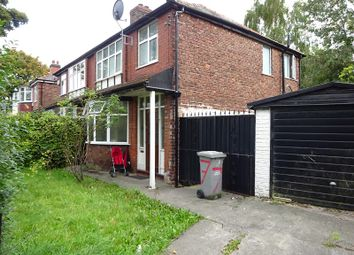 Thumbnail 3 bed semi-detached house for sale in Blenheim Road, Firswood, Manchester