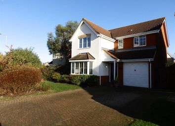 Thumbnail 4 bedroom detached house for sale in Kelvedon Drive, Ipswich, Suffolk