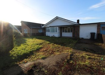 Thumbnail 3 bed detached bungalow to rent in Aspal Lane, Beck Row, Bury St. Edmunds