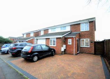 Thumbnail 3 bedroom semi-detached house for sale in Gage Close, Royston