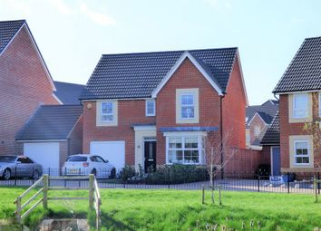 Thumbnail 4 bed detached house for sale in Underleaf Close, Quedgeley, Gloucester
