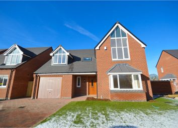 Thumbnail 4 bed detached house for sale in Rodney Gardens, Sheepy Magna