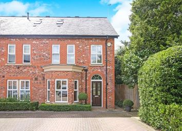 Thumbnail 3 bed end terrace house for sale in Russet Way, Alderley Edge, Cheshire, Uk