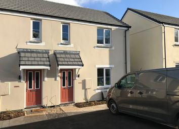 Thumbnail 2 bedroom semi-detached house to rent in Hilltop Crescent, Par