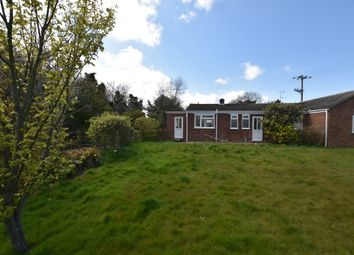 Thumbnail 2 bed semi-detached bungalow for sale in Church Road, Aylmerton, Norwich