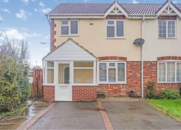 Thumbnail 3 bed semi-detached house for sale in Cranhill Close, Littleover