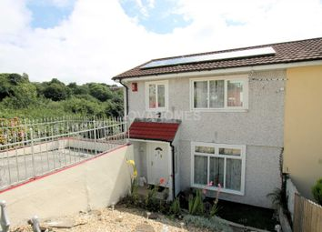 Thumbnail 3 bed semi-detached house for sale in Harewood Crescent, Honickknowle, Plymouth