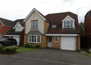 Thumbnail 4 bed detached house for sale in Sawbridge Close, Ellistown, Coalville