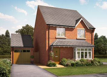 "Thumbnail 4 bed detached house for sale in ""The Bilberry"" at Knightley Road, Gnosall, Stafford"