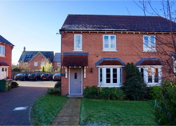 Thumbnail 3 bed semi-detached house for sale in Lockwood Road, Barrow Upon Soar