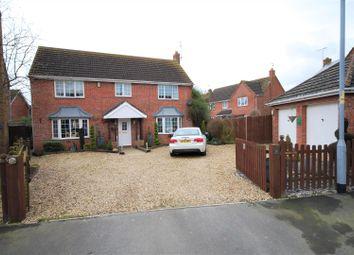 Thumbnail 4 bedroom detached house for sale in Vicarage Close, Cowbit, Spalding