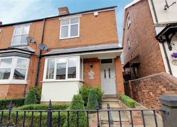 Thumbnail 3 bed end terrace house to rent in Alexandra Road West, Chesterfield, Derbyshire