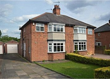 Thumbnail 3 bed semi-detached house for sale in Cropston Road, Anstey