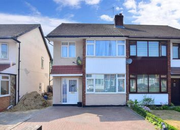 Thumbnail Semi-detached house for sale in Plantagenet Gardens, Romford, Essex