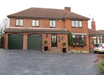 Thumbnail 4 bed detached house for sale in Skinner Street, Creswell, Worksop