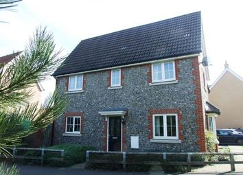 Thumbnail 3 bedroom semi-detached house for sale in Red Lodge, Bury St. Edmunds, Suffolk