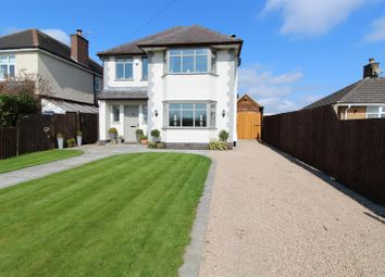 Thumbnail 3 bed detached house for sale in Berry Hill Lane, Donington Le Heath, Coalville