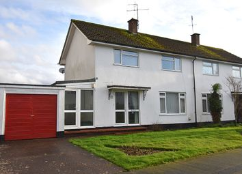 Thumbnail 3 bed semi-detached house for sale in Woodlands, Newton St Cyres, Near Exeter