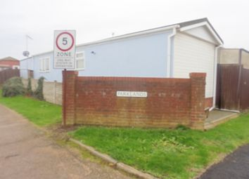 Thumbnail 2 bed mobile/park home for sale in Parklands, Pudding Norton
