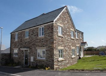Thumbnail 3 bed semi-detached house to rent in Growan Road, St Austell, Cornwall