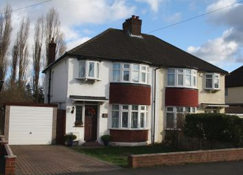 Thumbnail Semi-detached house for sale in Walsingham Gardens, Stoneleigh, Epsom