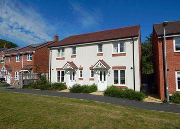 3 bed semi-detached house to rent in Wagstaff Way, Salisbury, Wiltshire SP2