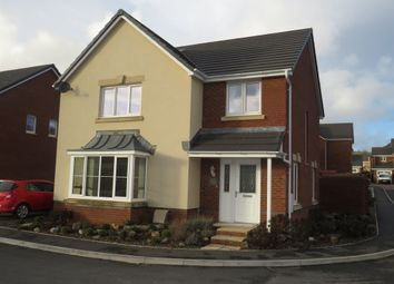 Thumbnail 4 bed detached house for sale in Worcester Court, Tonyrefail, Porth
