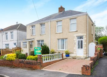 Thumbnail 2 bed semi-detached house for sale in Roger Street, Treboeth, Swansea