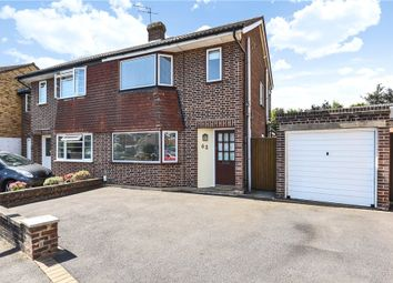 Thumbnail 3 bed semi-detached house for sale in Knightsbridge Crescent, Staines-Upon-Thames, Surrey