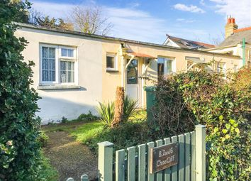 Thumbnail 2 bed terraced bungalow for sale in Cliff Road, Totland Bay, Isle Of Wight