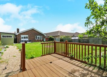 Thumbnail 3 bedroom detached bungalow for sale in Aspal Lane, Beck Row, Bury St. Edmunds