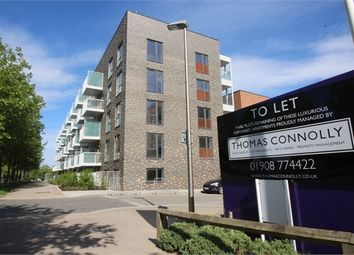 Thumbnail 1 bedroom flat to rent in Lattice Court, Campbell Park, Milton Keynes