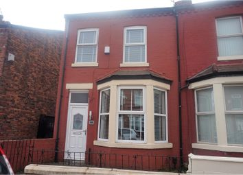 Thumbnail 3 bed end terrace house for sale in Eastbourne Road, Liverpool