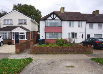 Thumbnail 2 bed end terrace house for sale in Gilders Road, Chessington