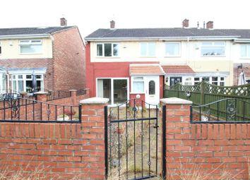 Thumbnail 3 bed terraced house to rent in Prendwick Court, Hebburn