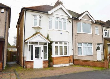 Thumbnail 3 bed semi-detached house for sale in Arundel Road, Harold Wood, Romford