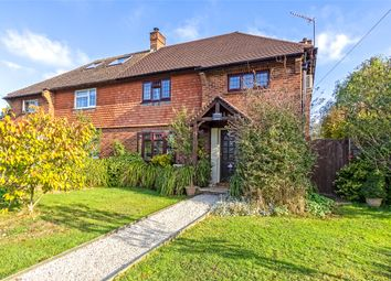 Thumbnail 3 bed semi-detached house for sale in Meadowlands, Hurst Green, Surrey