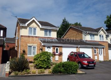 Thumbnail 3 bed detached house for sale in Manor Park, Newport, Gwent.