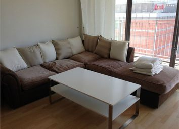 Thumbnail 1 bed flat to rent in Horizon Building, Hertsmere Road, London