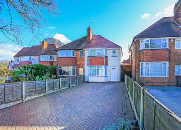Thumbnail 3 bed semi-detached house for sale in Hermitage Road, Solihull
