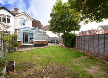 Thumbnail 3 bed semi-detached house for sale in Manor Road, Farnborough