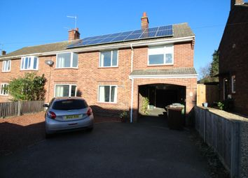 Thumbnail 4 bed semi-detached house for sale in Birkbeck Way, Thorpe St. Andrew, Norwich