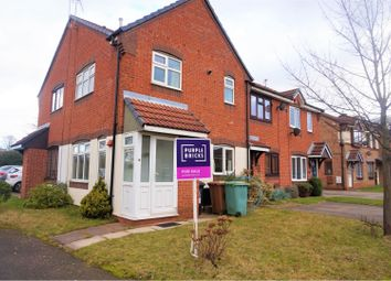 Thumbnail 1 bedroom town house for sale in Patriot Close, Walsall